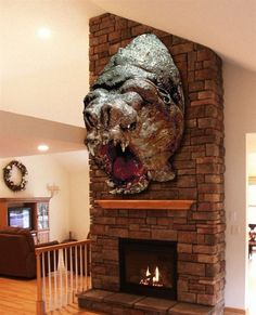 Rancor Trophy Head