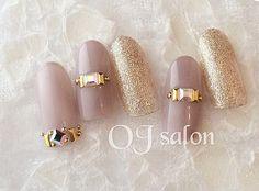 ネイル Nail Polish gta v nail polish Shellac Nails, Nail Manicure, Diy Nails, Cute Nails, Pretty Nails, Elegant Nail Designs, Nail Art Designs, Japan Nail, Self Nail