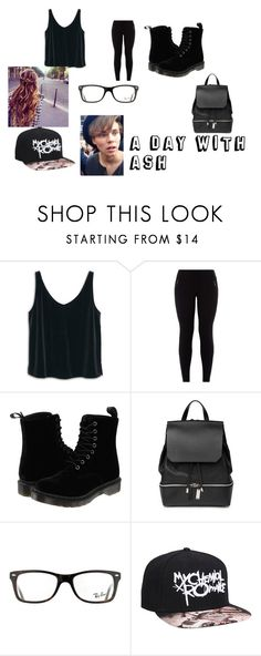 """Ashton4 iriwn"" by lol123-428 on Polyvore featuring MANGO, Dr. Martens, COSTUME NATIONAL and Ray-Ban"