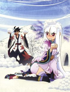 Katanagatari - Shichika Yasuri and Togame I Love Anime, Me Me Me Anime, Manga Art, Anime Art, Samurai Anime, Amnesia Anime, Kobayashi San Chi No Maid Dragon, Anime Galaxy, Anime Rules