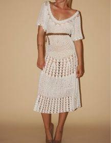 Pretta Crochet: Vestidos de crochet
