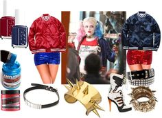 Harley Quinn Suicide Squad quick costume ideas, with details on Harley Quinn's Adidas and Harley Quinn's hair color in the upcoming Suicide Squad movie. New Halloween Costumes, Halloween 2015, Halloween Cosplay, Cosplay Costumes, Halloween Party, Cosplay Ideas, Costume Ideas, Harley Quinn Disfraz, Harley Quinn Cosplay
