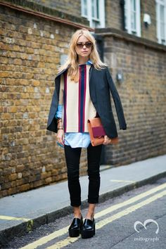 mitograph Pernille Teisbaek Before House Of Holland London Fashion Week 2014 Spring Summer LFW Street Style Shimpei Mito
