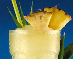 Receta para hacer Sorbete de piña y limón