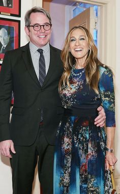 Sarah Jessica Parker & Matthew Broderick from Celeb Thanksgivings We Want to Crash   E! Online