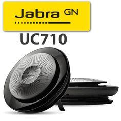 Jabra Speak 710 bluetooth & USB speaker -Work From Home Dubai Usb Speakers, Home Speakers, Bluetooth, Vector Technology, Uae