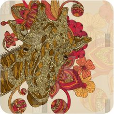 "Valentina Ramos ""The Giraffe"" Wall Art"