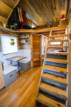 MitchCraft Tiny Homes Design House Perfekt Für Einen Bücherwurm