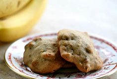 Banana Cookies ~ Cherished family recipe for banana cookies, a delicious way to use up your overripe bananas. ~ SimplyRecipes.com