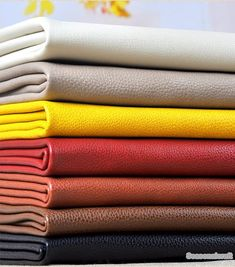 One Yard--Colorful Litchi grain of pearl Faux Leather, PU Leather Fabric, Soft Matte Imitation Leather- Gingham Fabric, Polka Dot Fabric, Floral Fabric, Leather Sheets, Leather Fabric, Deep Purple, Orange Leather, Pu Leather, Leather Sofa