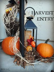 FOCAL POINT STYLING: Setting a Harvest Entry for Fall.