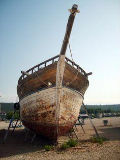 Old ship in Croatia