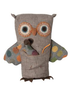 Owl with mouse- the pocket in the front with the friend tucked in is adorable. #owlandmouse #plushie
