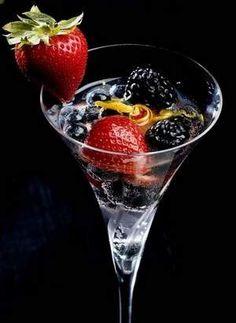 Berries in Orange-kissed #Moscato