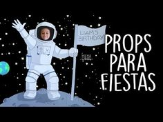 Precious Tips for Outdoor Gardens - Modern Alien Party, Astronaut Party, Outer Space Theme, Outer Space Party, Illustration Tutorial, Ideas Paso A Paso, Space Crafts For Kids, Moon Cartoon, Animation Background