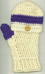 Free Crochet Pattern For Flip Top Mittens : 1000+ images about crochet crazy scaves, mittens, hats on ...
