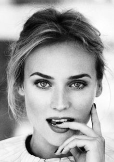 Diane Kruger very photogenic portrait
