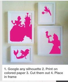 Cheap Way To Decorate Girls Room!!