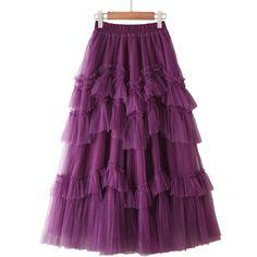 Empire Design, Mesh Skirt, Ball Skirt, Boho Festival Fashion, Spring Skirts, Elegant Woman, New Outfits, Ruffles, Ball Gowns