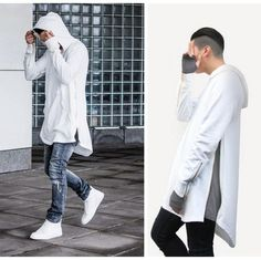 Cheap clothing office, Buy Quality hoodie dress directly from China clothing textile Suppliers: Spring Autumn Europe Men Hoodie Hiphop Clothes Mens Hoody Sweatshirt Golden Zipper Full Sleeve Black Cloak Sport Outerwe