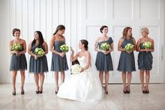 bridesmaid dresses same colour different styles - Google Search