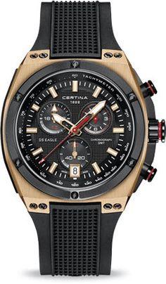 Certina DS reloj de cuarzo de Eagle Chrono GMT