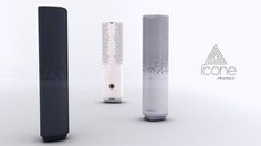 ICONE wireless speakers on Industrial Design Served