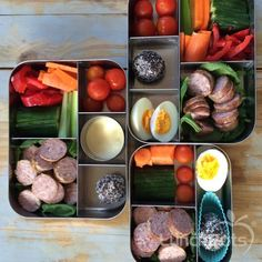 Paleo school lunches and paleo work lunch. Healthy eating on the go!