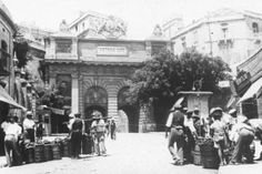 The vegetable market in Valletta by the Victoria Gate.
