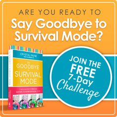 Say Goodbye to Survival Mode: Day 2 (Recognize & Appreciate Your Gifts)  Good read and not comparing yourself to others and appreciating your own individual gifts.