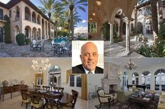 Billy Joel  You may be right — paying $14.75 million for Billy Joel's spread in Miami Beach may be crazy. But it just may be the waterfront mansion you're looking for.