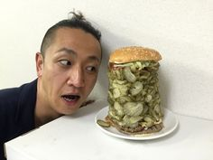 This Is What $80 Worth Of Pickles On A Burger King Whopper Looks Like