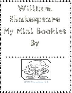 Shakespeare For All Ages Project (Lesson plans- 22 tasks