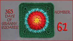 365 Days of Granny Squares Number 61