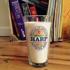 A personal favorite from my Etsy shop https://www.etsy.com/listing/232061900/harp-pint-soy-wax-candle
