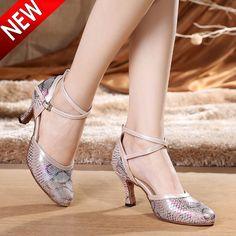 5eabdc08b Adult Women Latin Dance Shoes Salsa Tango Dancing Shoes For Women 5.5 CM  Heel Height Ballroom
