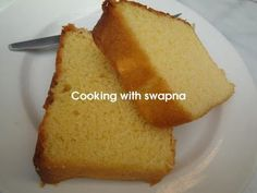 Anytime I bake, it& the pound cake comes out perfect. This can be used as a base for tart, tiramisu, fried icecreams and for many other d. Eggless Pound Cake Recipe, Pound Cake Recipes, Easy Cake Recipes, Pound Cakes, Cupcake Recipes, Bread Recipes, Baking Recipes, Dessert Recipes, Eggless Desserts