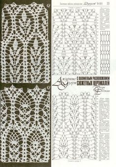 Photo from album Дуплет 181 2016 on Picot Crochet, Crochet Stitches Chart, Crochet Diagram, Thread Crochet, Crochet Motif, Crochet Doilies, Lace Patterns, Stitch Patterns, Crochet Patterns