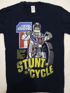 Evel Knievel American Iconic Daredevil Exhibition Place Toronto Adult T-Shirt