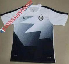 Voici les Nouveau maillot de foot Training Inter 2016 Blanc est 21.99 euro