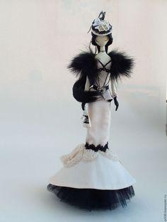 Купить Текстильная кукла.Тряпиенса..Николь - тряпиенс, корейские тряпиенсы, текстильная кукла, кукла в подарок: