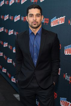 Gone are his days as scrawny That '70s Show's Fez. Wilmer Valderrama is hot, and there's no going around it. The Miami-born actor with Venezuelan and Colombian roots, who famously fawns over girlfriend Demi Lovato, all of a sudden has muscles to die for, a scruffy bad-boy look no one can resist, and eyes that could melt you with one smoldering look. We know, we know; we're shocked we're saying all of this, too.