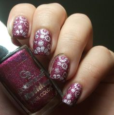 The Clockwise Nail Polish: Golden Rose Holiday 57