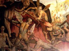Detail of Last Judgement by Giorgio Vasari and Federico Zuccari by JP Rosa, via Flickr