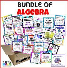 685 Best Algebra 1 images in 2017 | Teaching math, Algebra