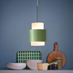 Herstal Y1949 Taklampe 14 cm Grønn Utstillingsmodell