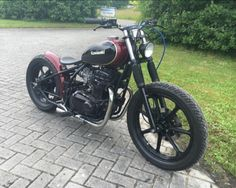 www.marktplaats.nl/motoren/tuning-en-styling/bobber-ltd440-hardtail-chopper Origineel: Kawasaki LTD440 Bouwjaa...