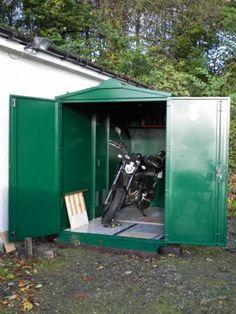 Motorcycle Storage Case Studies Asgard