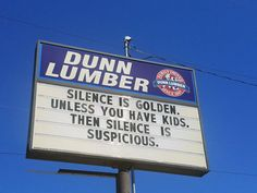 The Dunn Lumber Sign on Aurora Ave in Seattle