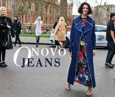 O novo jeans